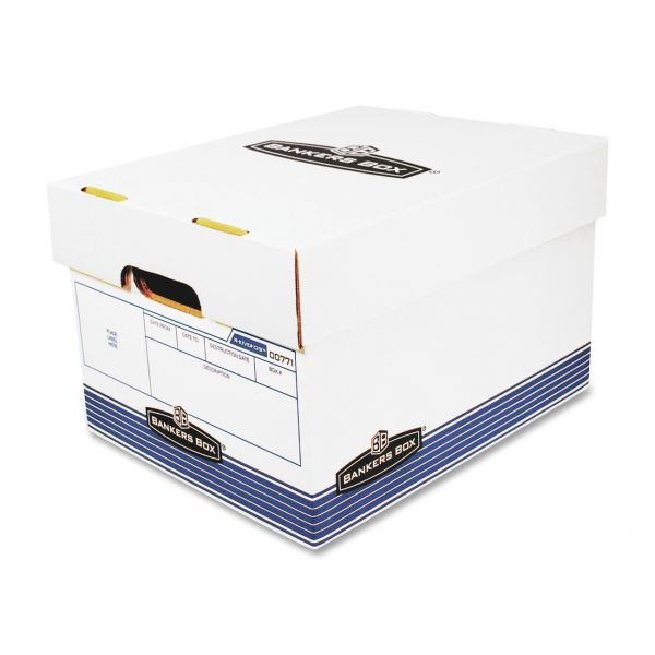 Bankers Box R-Kive Max-Duty Storage Boxes With Lift-Off Lids