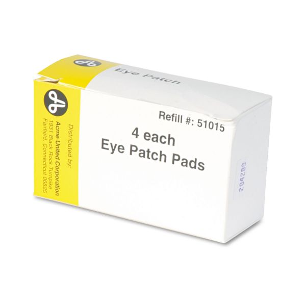 Acme United Eye Patch, 2 x3, Four Patches per Box