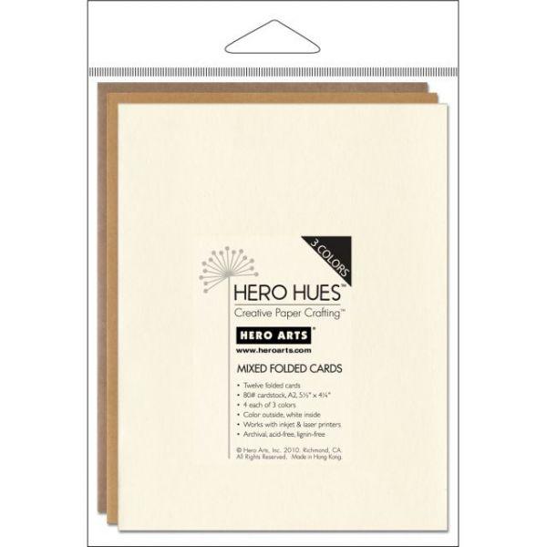 "Hero Arts A2 Cards (4.25""X5.5"") 12/Pkg"