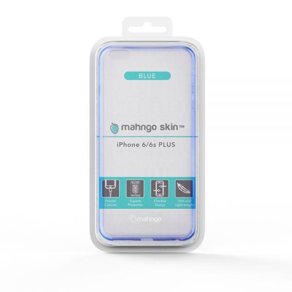 ReVamp Mahngo Skin Slim TPU Protective Case (Blue) (iPhone 6/6S Plus)