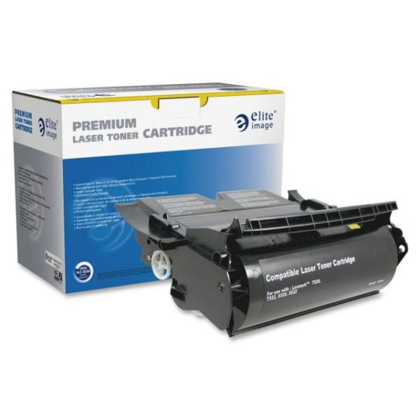 Elite Image Remanufactured Lexmark 12A6835 High Yield Toner Cartridge