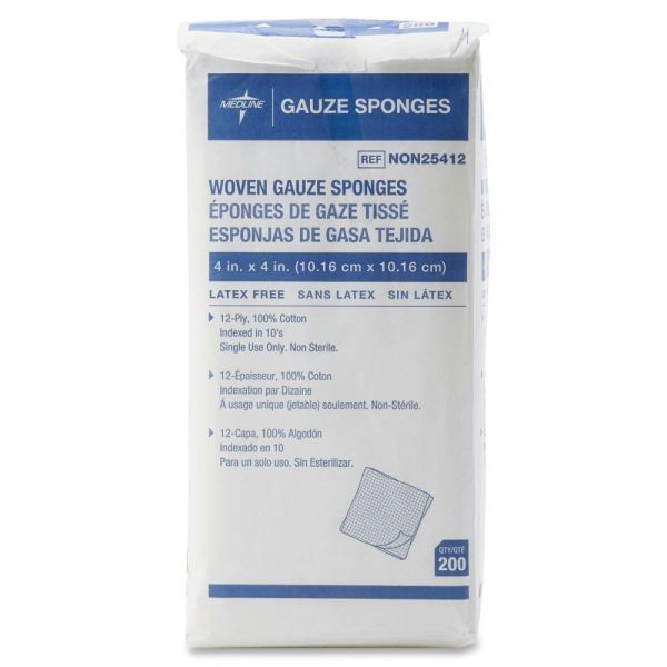 Medline Non-Sterile Gauze Sponges