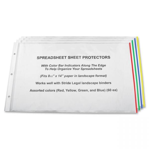 Stride Top Loading Color Coding Sheet Protectors