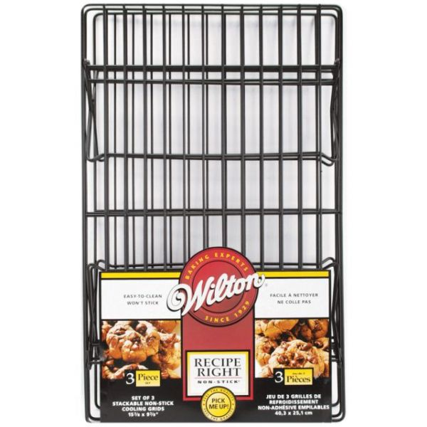 Wilton Recipe Right Non-Stick 3-Tier Cooling Rack