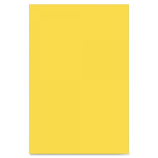 Riverside Groundwood Yellow Construction Paper