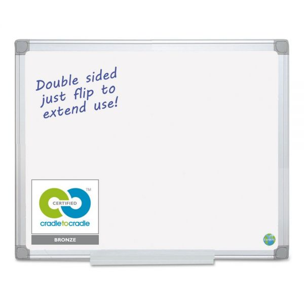 MasterVision Earth Silver Easy Clean 8' x 4' Dry Erase Boards