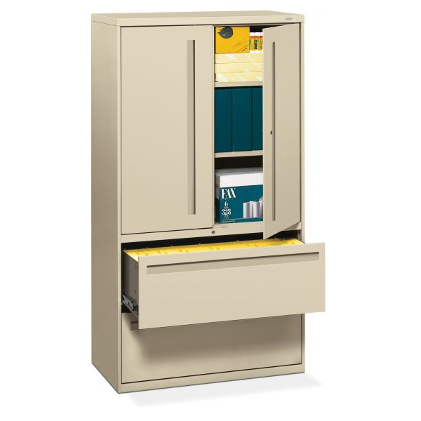 HON Brigade 700 Series 2-Drawer Lateral File Cabinet
