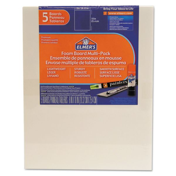 Elmer's White Pre-Cut Foam Boards