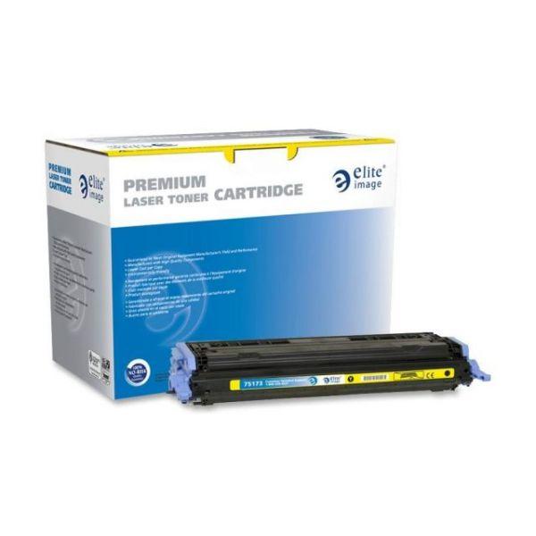 Elite Image Remanufactured HP 124A (Q6002A) Toner Cartridge