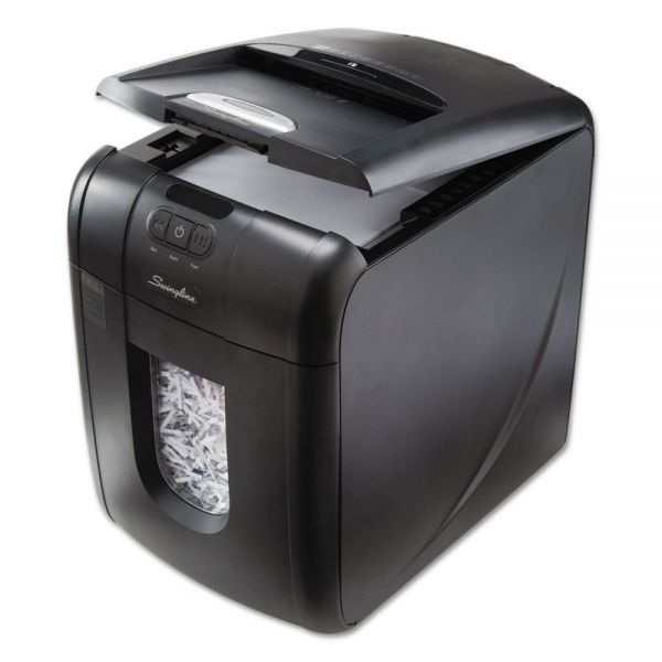 Swingline Stack-and-Shred 130XL Auto Feed Super Cross-Cut Shredder Value Pack, 130 Sheets