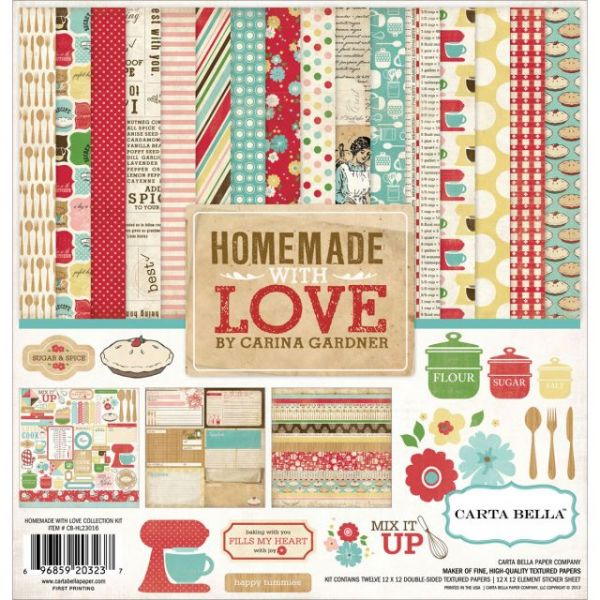 Homemade With Love Collection Kit