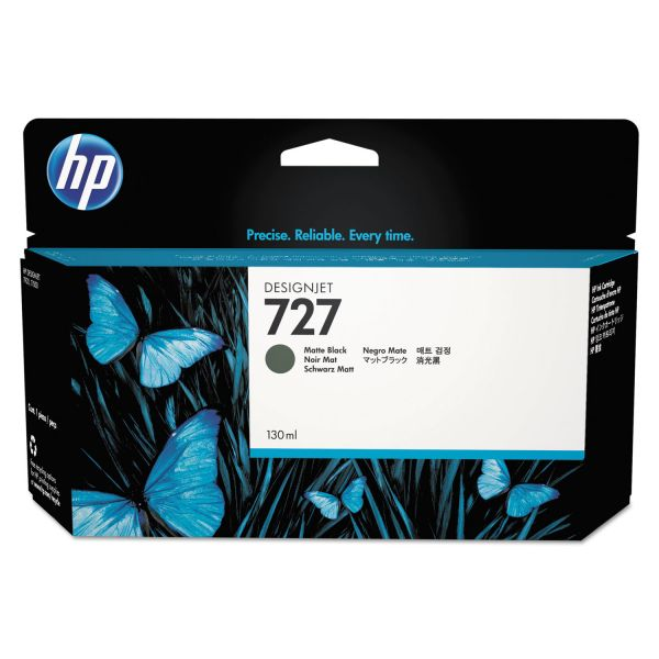 HP 727 Matte Black Ink Cartridge (B3P22A)