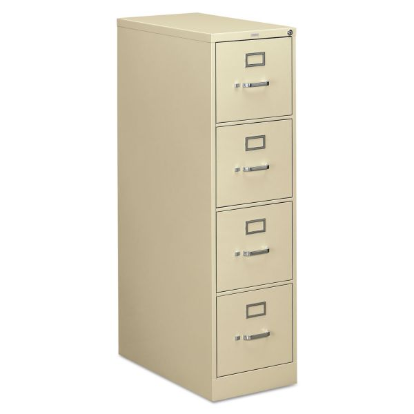 "HON 310 Series Vertical File | 4 Drawers | Letter Width | 26-1/2""D"