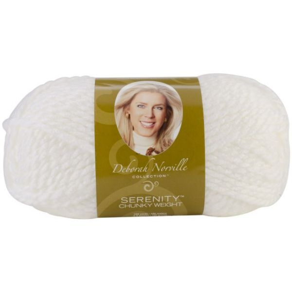 Deborah Norville Collection Serenity Chunky Yarn - Cloud Dancer