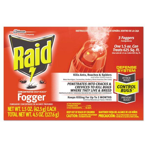Raid Concentrated Deep Reach Foggers