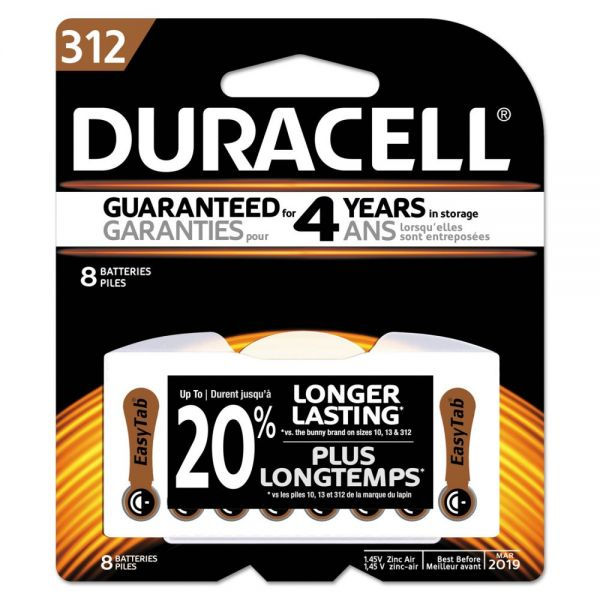 Duracell 312 Hearing Aid Battery