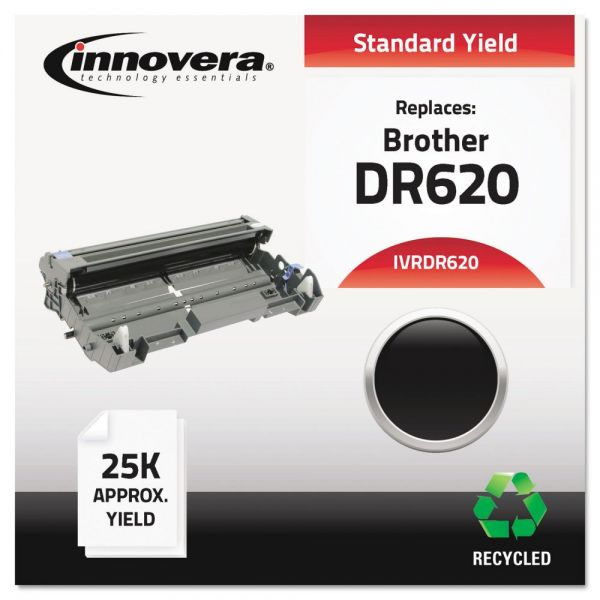 Innovera DR620 Compatible, Remanufactured, DR620 Laser Toner, 25000 Page-Yield, Black. Drum Unit ONLY