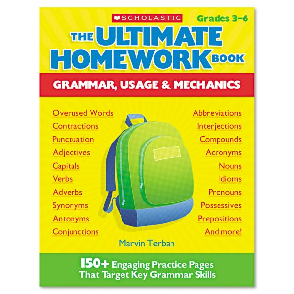 The Ultimate Homework Book: Grammar, Usage & Mechanics