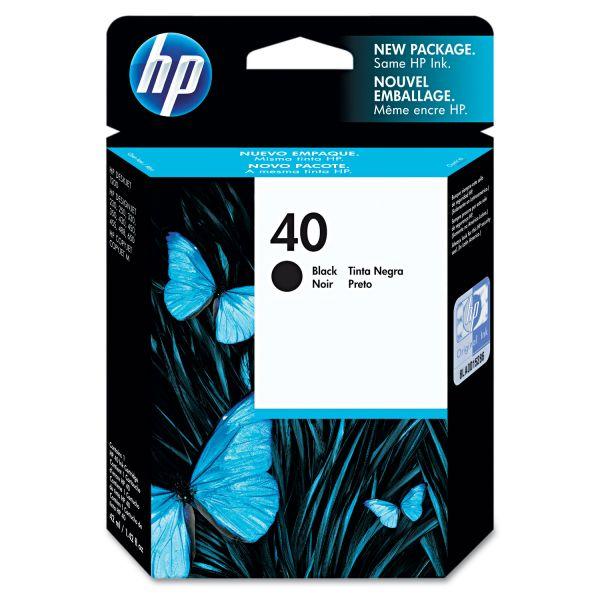 HP 40 Black Ink Cartridge (51640A)