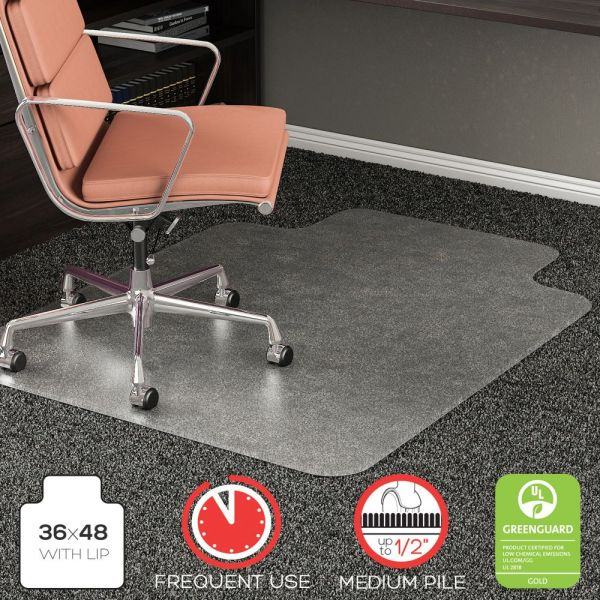 Deflect-o RollaMat Medium Pile Chair Mat