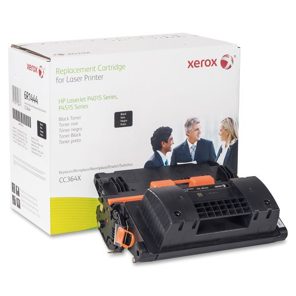 Xerox Remanufactured HP CC364X Black Toner Cartridge