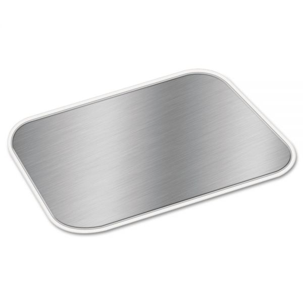 Handi-Foil of America Rectangle Board Takeout Container Lids