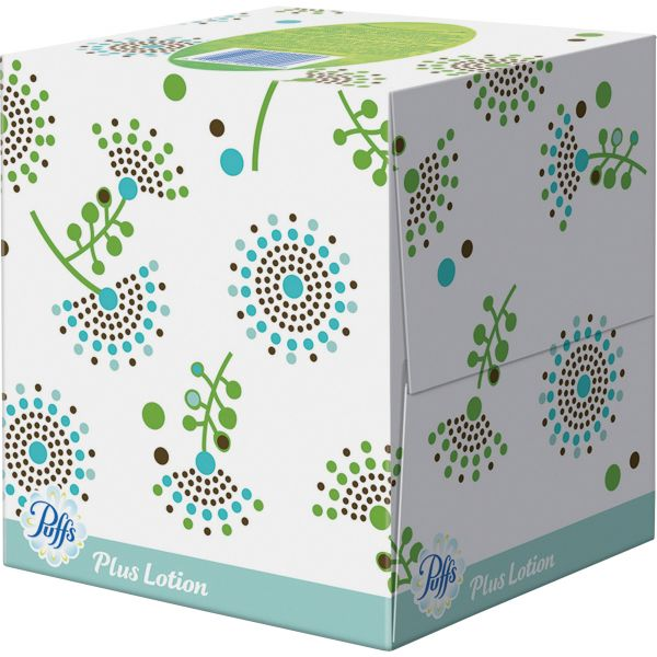 Puffs Plus Lotion 2-Ply Facial Tissues