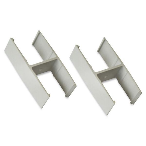 Lorell Straight Panel Connectors