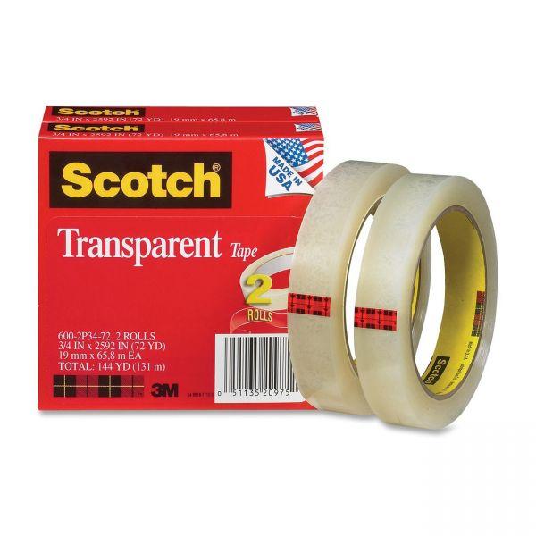 Scotch Transparent Tape Refills