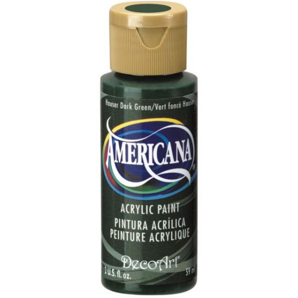 Deco Art Hauser Dark Green Americana Acrylic Paint