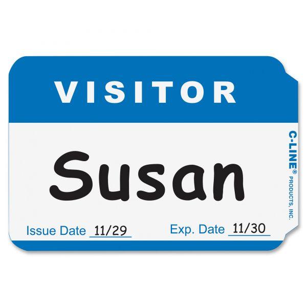 "Universal ""Visitor"" Name Tags"