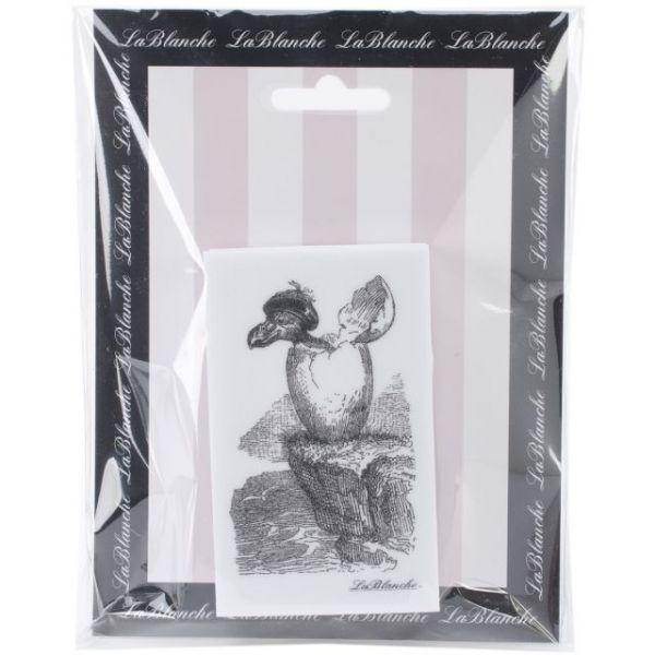 "LaBlanche Silicone Stamp 2""X3.5"""