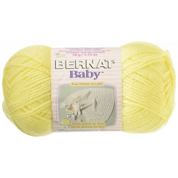 Bernat Baby Yarn - Baby Yellow