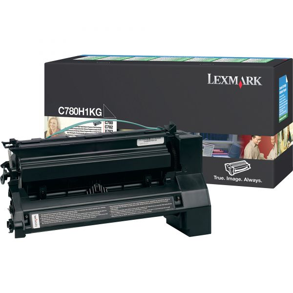 Lexmark C780H1KG Black High Yield Return Program Toner Cartridge