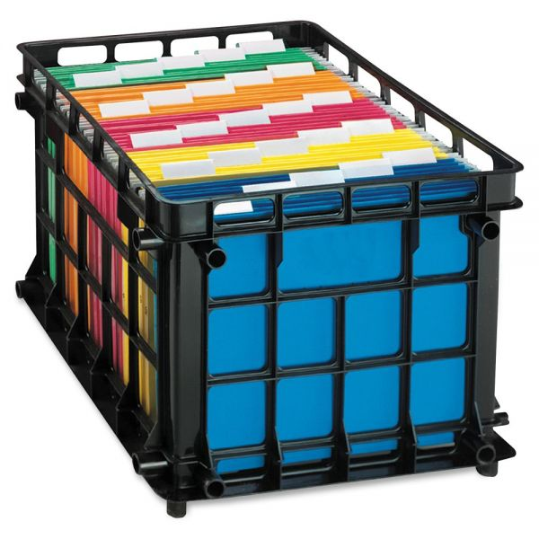 Pendaflex Oxford Stackable File Crate