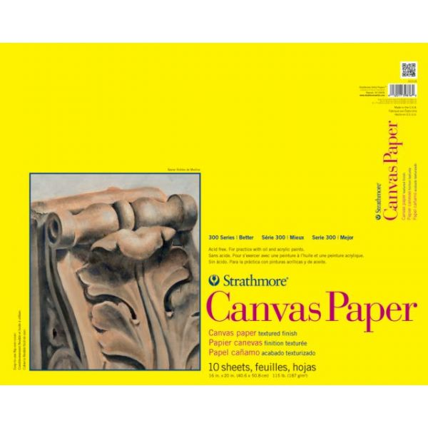 Strathmore Acid Free Canvas Paper Pad