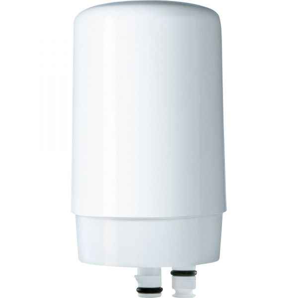 Brita On Tap Faucet Water Filter System Replacement Filter, White