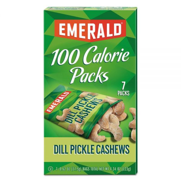 Emerald 100 Calorie Pack Dill Pickle Cashews