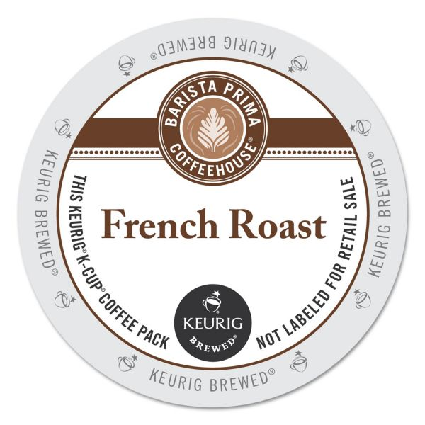 Barista Prima Coffee House French Roast Coffee K-Cups