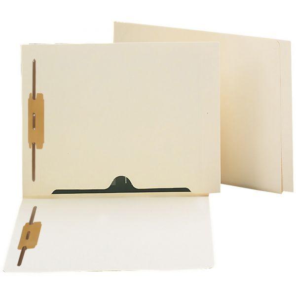 Smead Manila End Tab File Folder With Fasteners