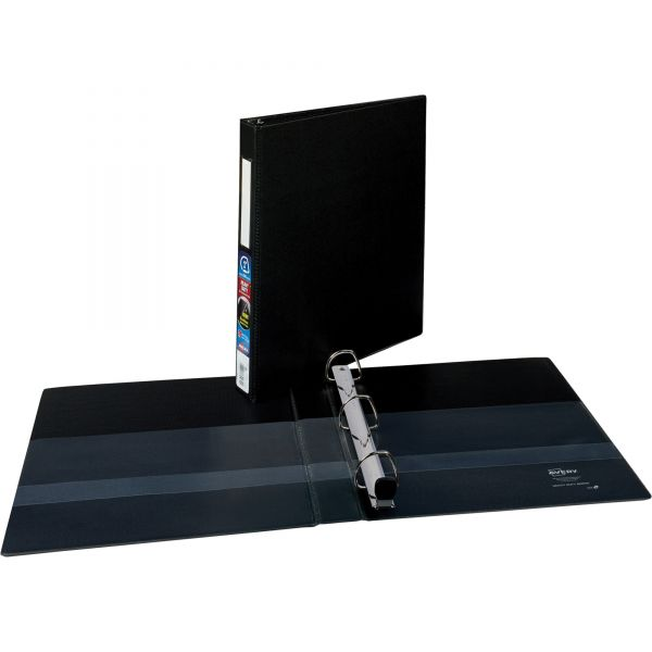 """Avery Heavy-Duty 3-Ring Binder with One Touch EZD Rings, 1"""" Capacity, Black"""