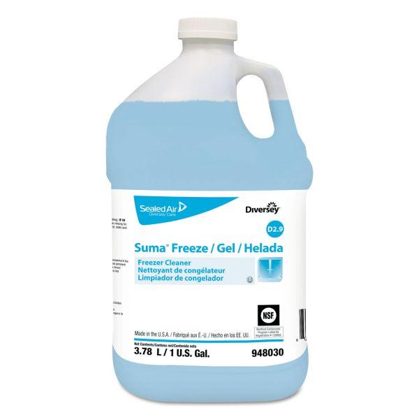 Diversey Suma Freeze D2.9 Floor Cleaner, Liquid, 1 gal, 4 per carton
