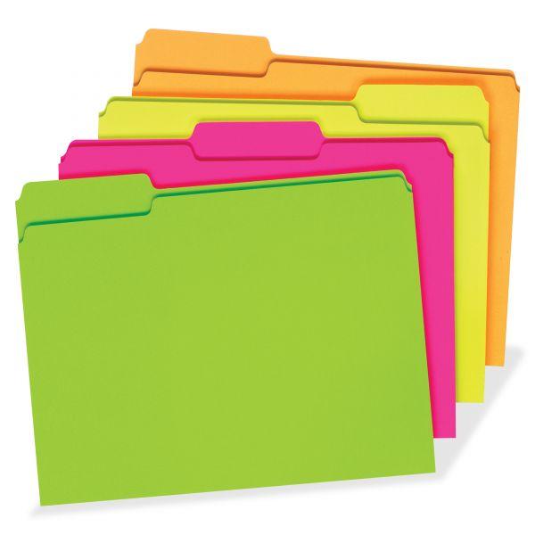 Pendaflex Glow File Folders