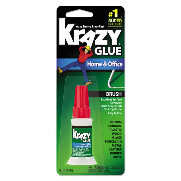 Krazy Glue Home And Office Brush On Super Glue