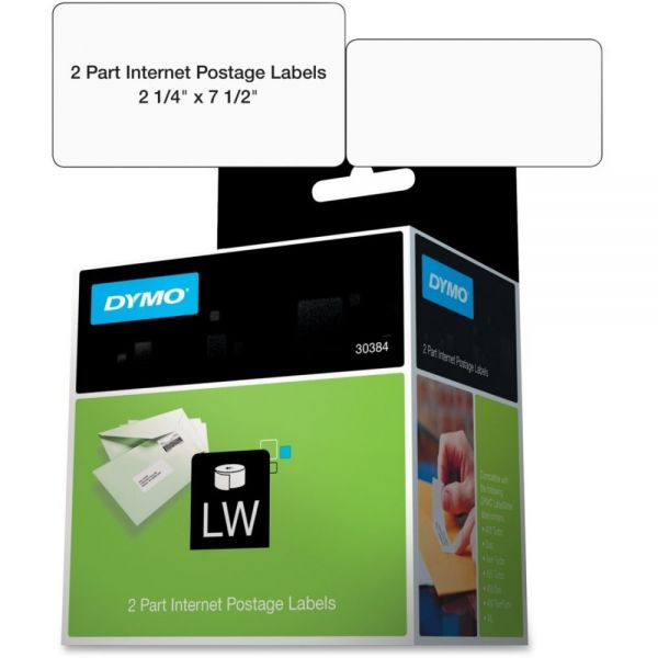 Dymo 2-Part Internet Postage Labels
