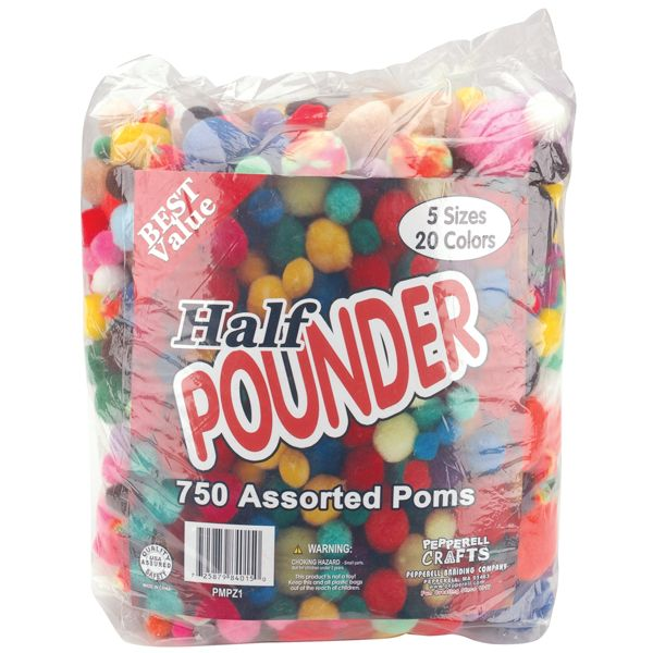 Assorted Poms Half Pounder