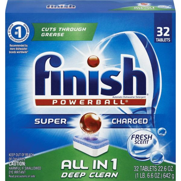 FINISH Powerball Dishwasher Tabs