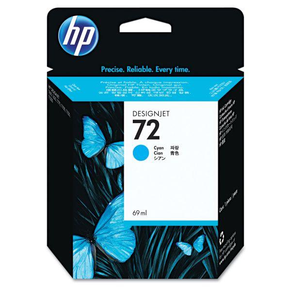 HP 72 Cyan Ink Cartridge (C9398A)