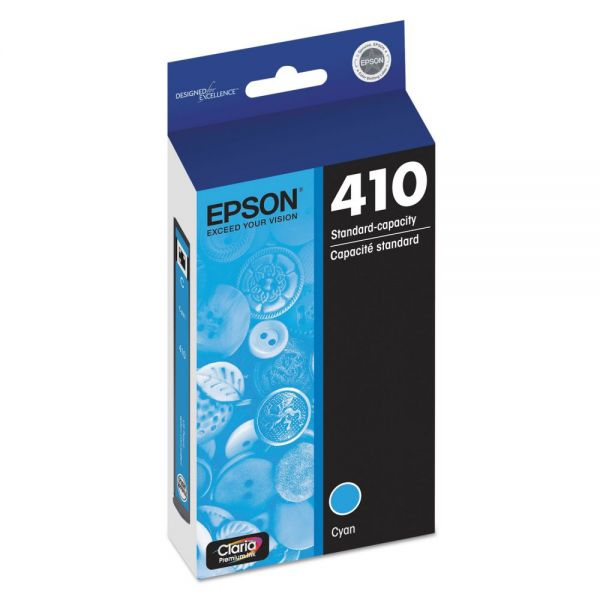 Epson T410220 (410) Ink, Cyan