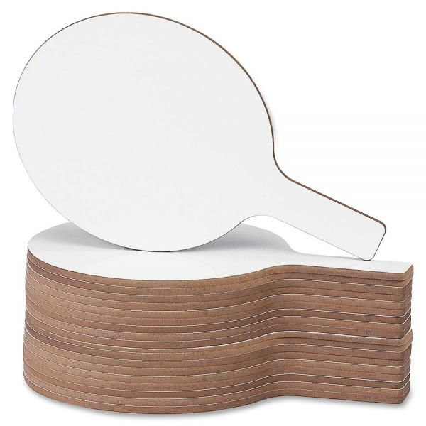 Flipside Round Dry Erase Answer Paddle